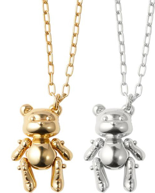 AMBUS TEDDY BEAR PENDENT 2 COLOR