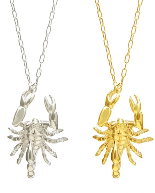 ABS SCORPION NECKLACE