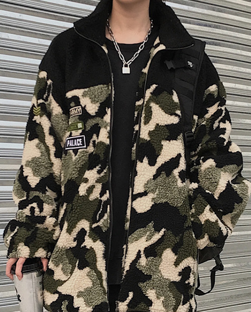 PLC ARMY FLEECE