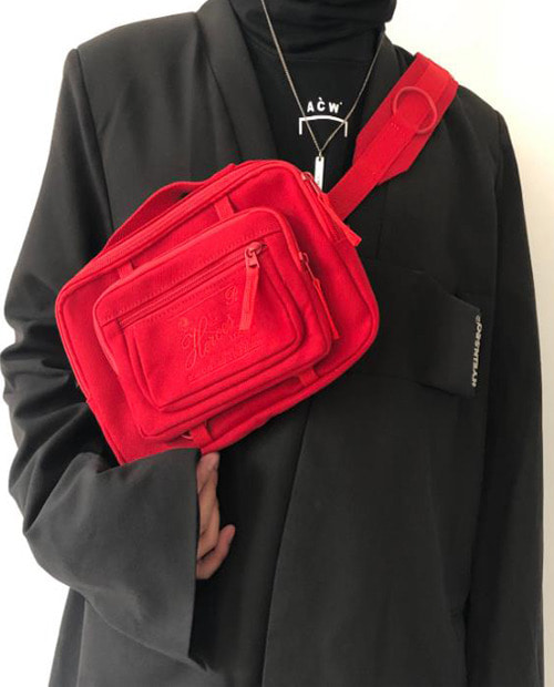 RAF VELBET CROSS BAG