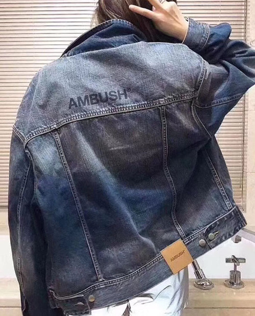 ABS LOHO DENIM JACKET