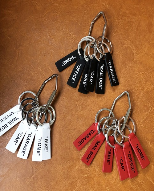OW LAYER LETTERING KEY CHAIN