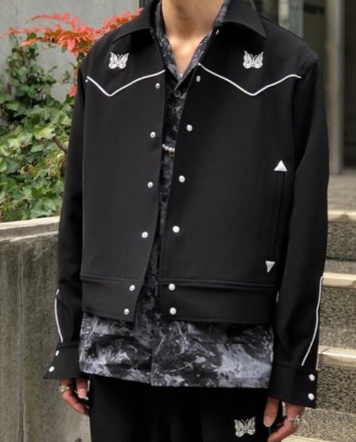 N.D BUTTERFLY BLACKCODE JACKET