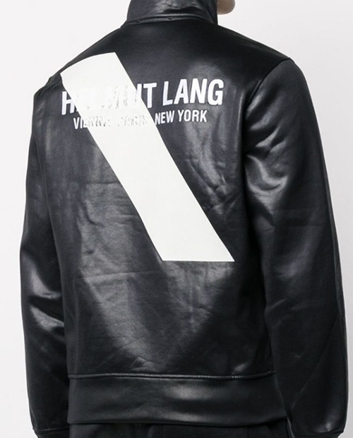 HELMUT BACKLOGO RATHER JACKET